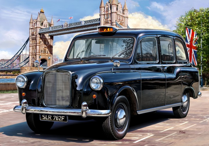 Full day London city tour by Taxi